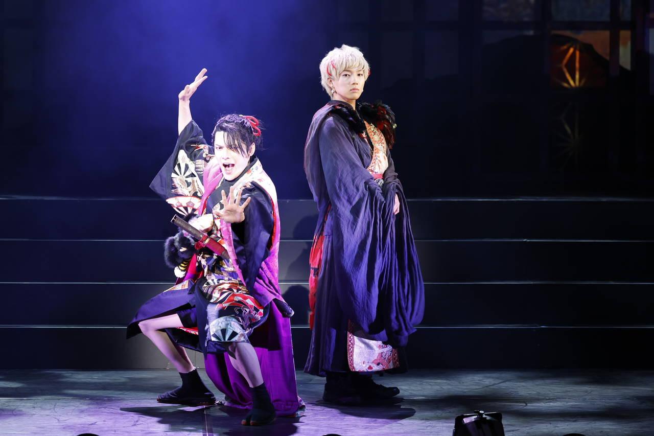 崎山つばさ主演、舞台『死神遣いの事件帖』ゲネプロレポート到着!鈴木拡樹出演の映画版と連動!