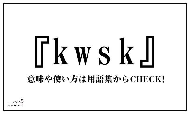 kwsk(くわしく)