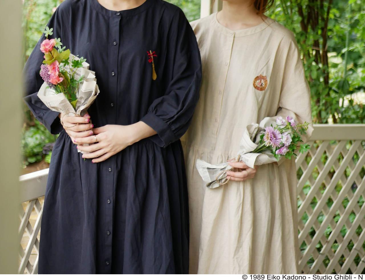 『魔女の宅急便』キキの魔女服をイメージしたワンピースが登場!