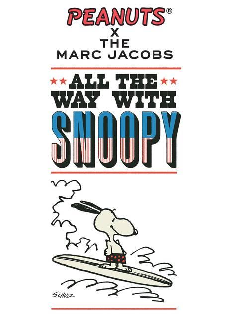 『スヌーピー』×「マーク・ジェイコブス」コラボコレクションに新作登場♪ ポップアップも開催!
