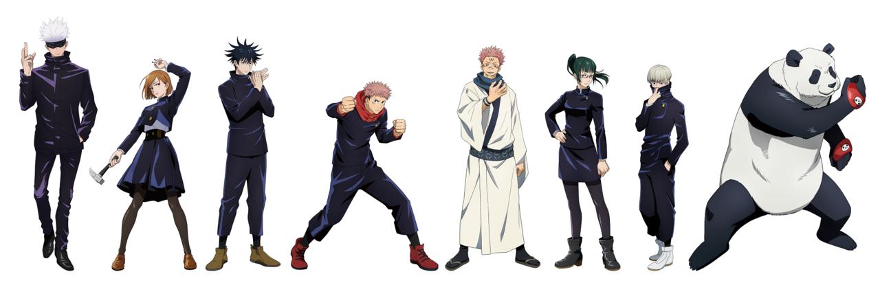 『呪術廻戦』最新キャラクタービジュアル解禁! 虎杖悠仁、伏黒 恵、釘崎野薔薇、五条悟など♪
