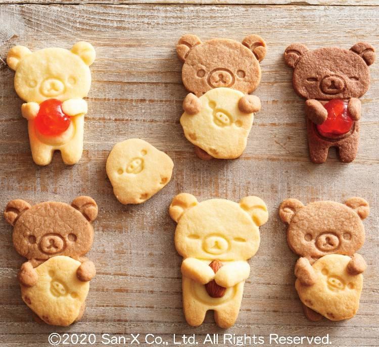 『リラックマ』お菓子作りグッズ登場! だっこクッキー型やアイスクリームメーカー、ケーキ型など♪