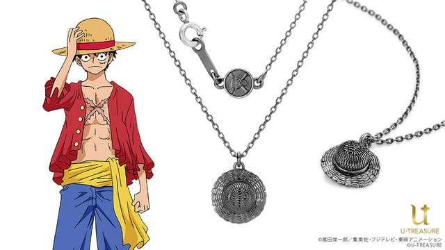 『ONE PIECE』ルフィ、エース、サボの帽子モチーフのネックレスが登場!
