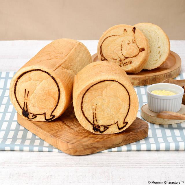 可愛すぎる♪ 『ムーミン』まんまるおしりパンが登場! カフェではハニートーストも♪