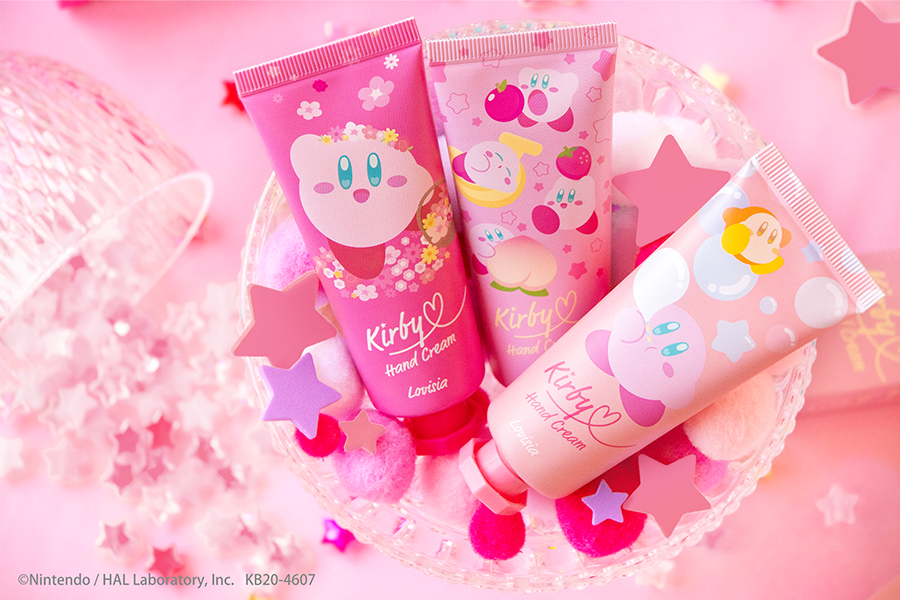 『星のカービィ』新作ハンドクリーム登場! ピンクカラーの可愛いデザイン♪