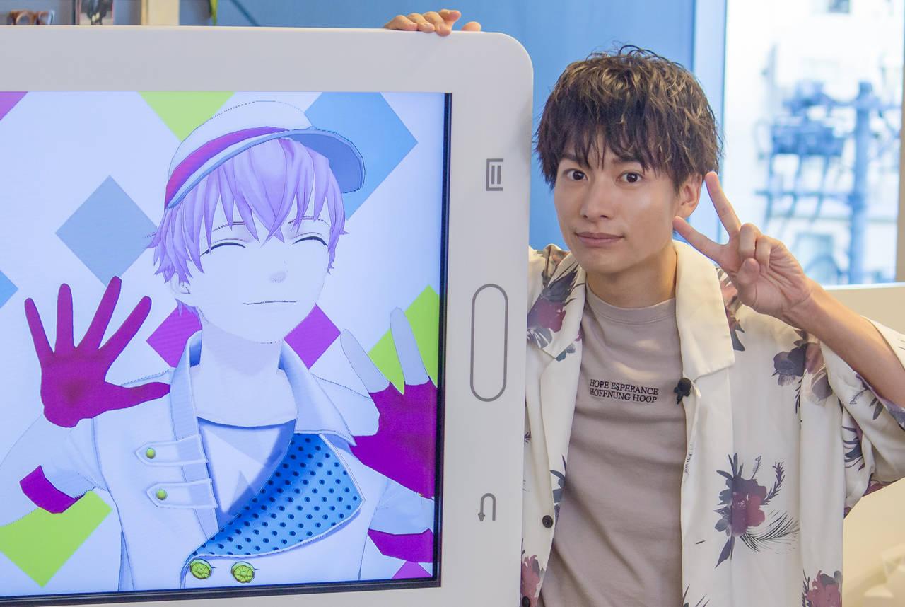 小澤廉がVTuberと初共演!「5Gになったらどうなるの!?」『Sora's Senpai Club』インタビュー!