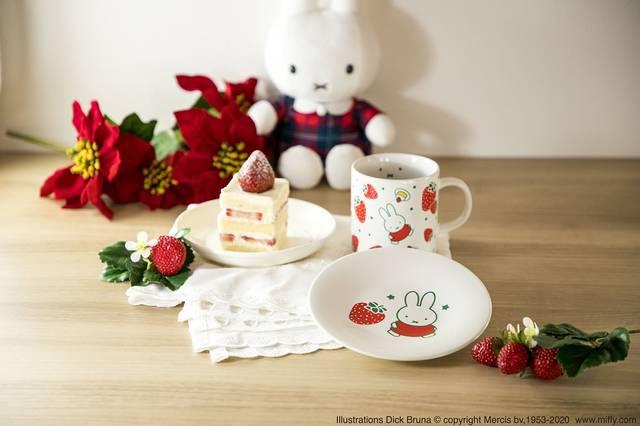 『ミッフィー』イチゴ柄が可愛い新グッズ! マスクミストやミトンなど♪ クリスマスプレゼントも♪