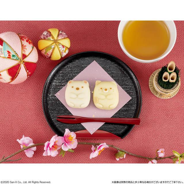 『すみっコぐらし』しろくま&ねこの和菓子が登場! 見て可愛い、食べて美味しい♪