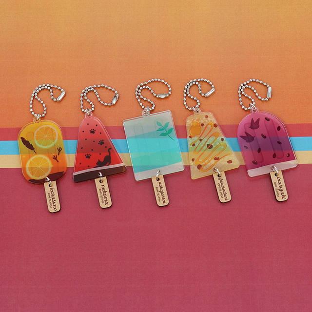 『ハイキュー!! TO THE TOP』各校×アイスのキーホルダーが発売決定! 日常使いしやすい可愛いグッズ♪