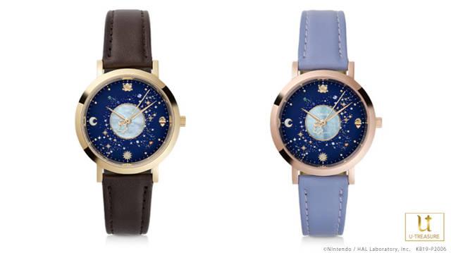 『星のカービィ』から新作腕時計&指輪が発売! 「銀河にねがいを」世界観モチーフ♪