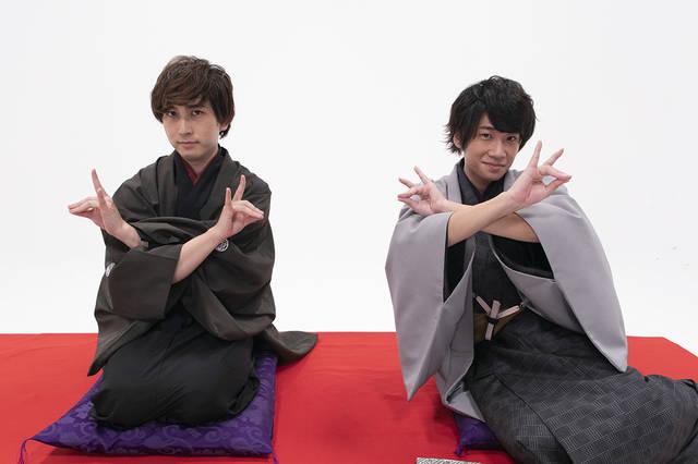 BL×落語『僕ら的には理想の落語』第3話の先行カット公開!中島ヨシキ&土田玲央、お茶目なカットも