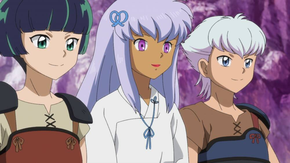 『半妖の夜叉姫』第20話「半妖の隠れ里」先行カット&あらすじをUP!紫織が登場!せつなの過去が明らかに……