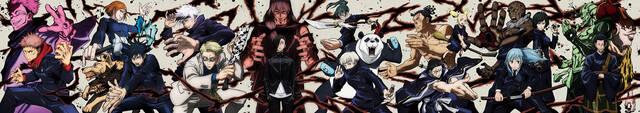 『呪術廻戦』BD&DVD全巻ジャケット解禁! 20キャラが集合するコンプリートビジュアル公開中!