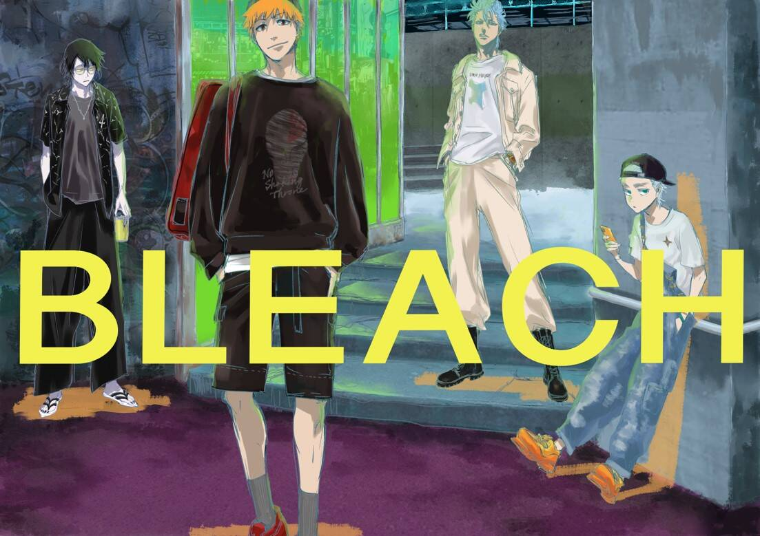『BLEACH』が「東京ガールズコレクション」とコラボ! 一護や日番谷の描き下ろしイラスト公開中♪