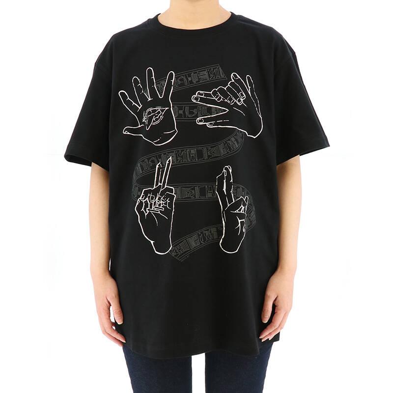 『呪術廻戦』ハンドグラフィックTシャツ&トートバッグ発売! シンプルでカッコイイデザイン♪