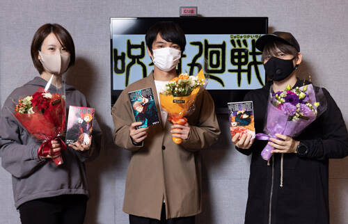 最終回直前『呪術廻戦』榎木淳弥が「最後の展開は胸にグッときます」 内田雄馬、瀬戸麻沙美もインタビュー解禁!