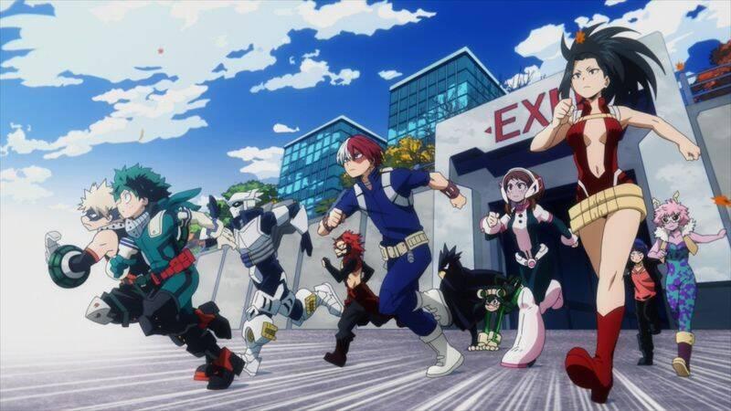 『僕のヒーローアカデミア』第5期 第1話先行カット公開! 話題のアニメオリジナル回♪