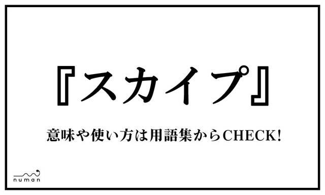 スカイプ(すかいぷ)