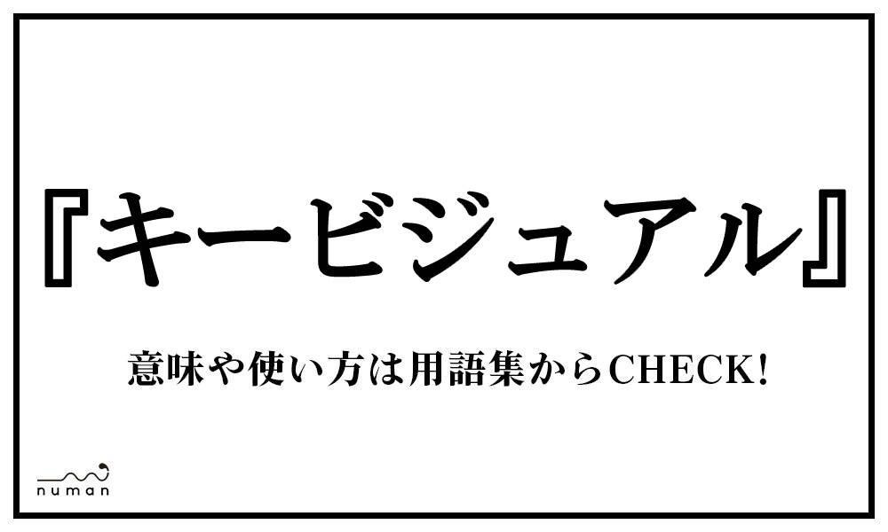 キービジュアル(きーびじゅある)