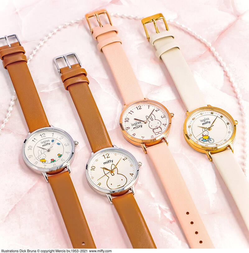 『ミッフィー』人気時計ブランドとコラボ♪ 可愛くてたまらない限定デザイン!