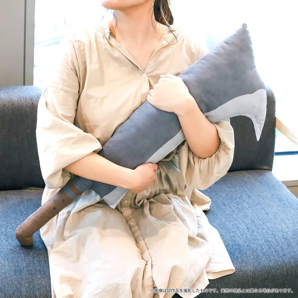 『ひぐらしのなく頃に 卒』レナの鉈クッションが登場! インテリア抱き枕にぴったり