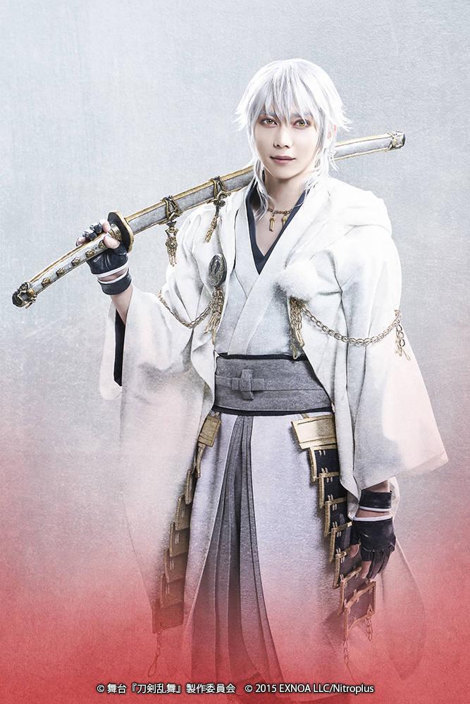 舞台『刀剣乱舞』大坂夏の陣 鶴丸国永:染谷俊之