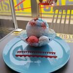 呪術廻戦カフェ【五条悟】氷菓『茈(むらさき)』