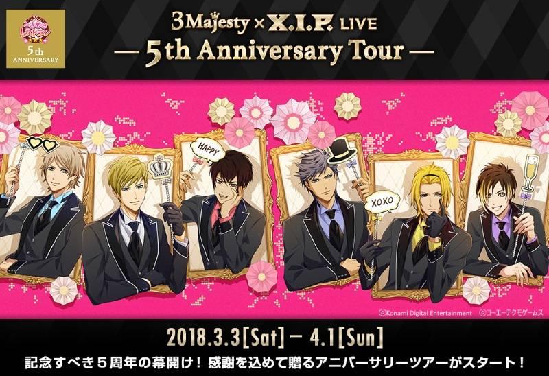 3 Majesty × X.I.P. LIVE -5th Anniversary Tour- 開幕!|5周年への感謝を込めた感動のスペシャルステージをレポート!