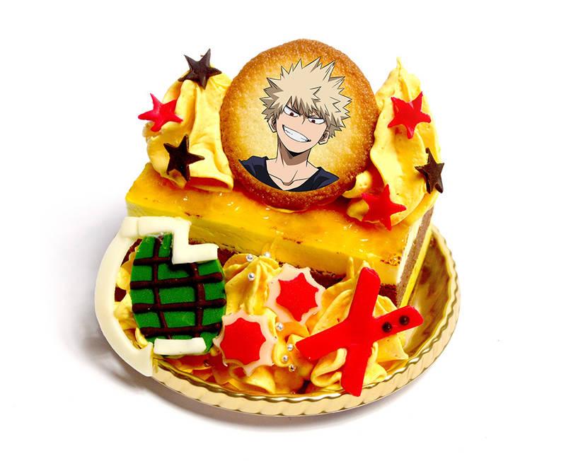 爆豪勝己の「爆破」オレンジケーキ(720円)