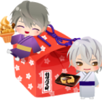 『桔梗信玄餅』 ×『イケメン戦国◆時をかける恋』3
