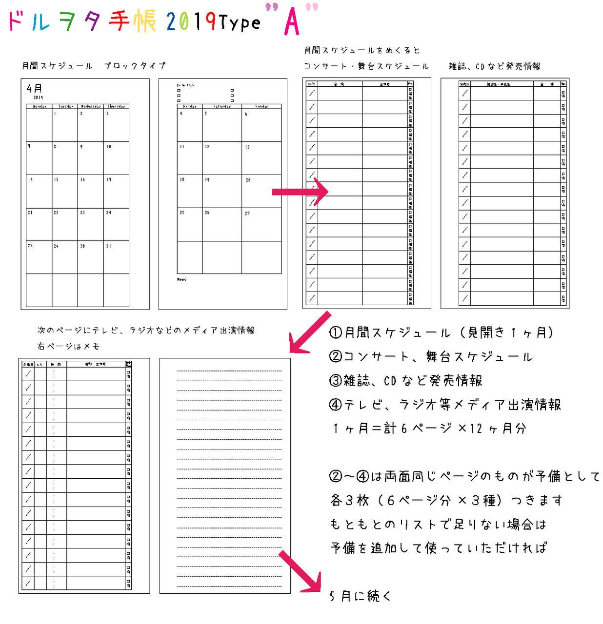 ドルヲタ手帳1