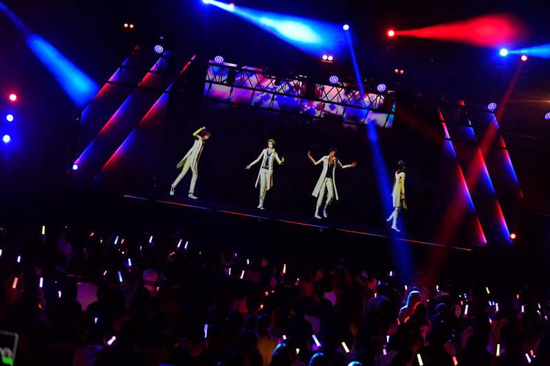 ARP 横浜 ライブ レポート『KICK A'LIVE2』numan 30