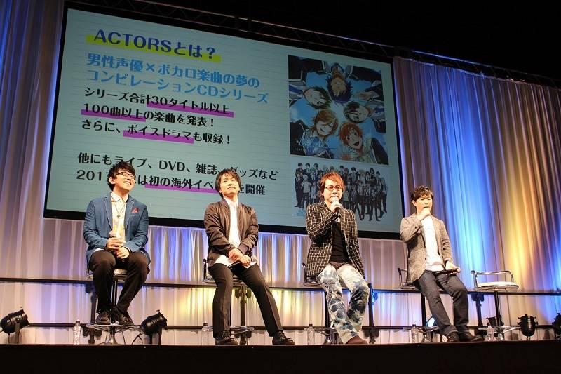 TVアニメ「ACTORS」スペシャルステージ写真1
