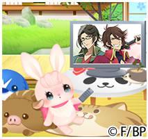「BAKUMATSUクライシス」テレビアニメ放送記念キャンペーン_うさ美のBAKUMATSUクライシス視聴日誌イメージ