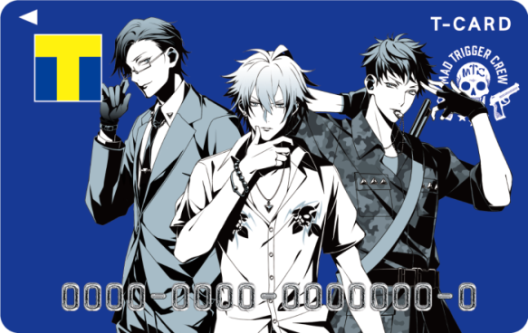 Tカード(ヒプノシスマイク・MAD TRIGGER CREWデザイン)