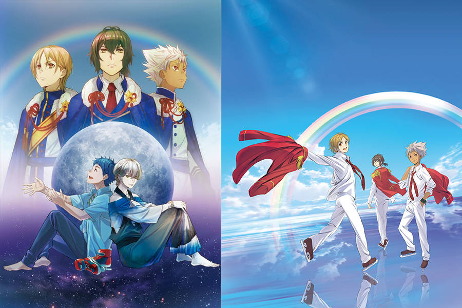 『KING OF PRISM by PrettyRhythm』と『KING OF PRISM -PRIDE the HERO-』の2作品が期間限定で無料配信