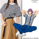 紫原のボーダーTシャツ 画像