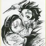 1巻購入特典:キャラクターデザイン・松島晃描き下ろし色紙