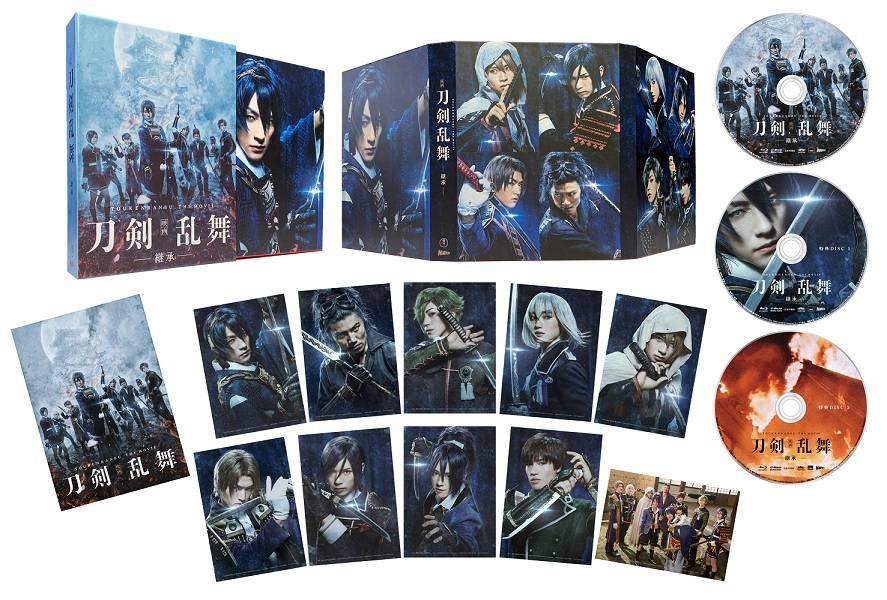 『映画刀剣乱舞‐継承‐』のBlu-ray&DVD(豪華版) 画像
