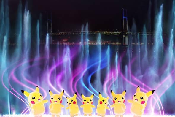 「ピカチュウ大量発生チュウ! 2019」夜の開催決定! 巨大噴水と光が融合したチームパフォーマンスも numan6