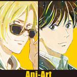 BANANA FISH Ani-Art POP UP SHOP in アニメイト_1