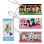 スクエアキーホルダー 全4種 銀魂 × Sanrio characters(サンリオキャラクターズ) ~キャラクターやるのも大変だ2~ 画像
