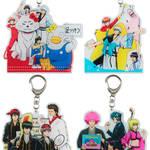 アクリルキーホルダー 全4種 銀魂 × Sanrio characters(サンリオキャラクターズ) ~キャラクターやるのも大変だ2~ 画像