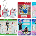 アクリルマスコットプレート 全7種 銀魂 × Sanrio characters(サンリオキャラクターズ) ~キャラクターやるのも大変だ2~ 画像