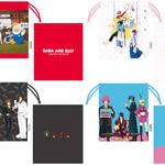 巾着 全4種 銀魂 × Sanrio characters(サンリオキャラクターズ) ~キャラクターやるのも大変だ2~ 画像