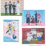 B2フルカラータオル 全4種 銀魂 × Sanrio characters(サンリオキャラクターズ) ~キャラクターやるのも大変だ2~ 画像