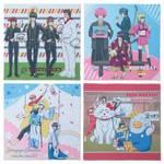 マイクロファイバーミニクロス 全4種 銀魂 × Sanrio characters(サンリオキャラクターズ) ~キャラクターやるのも大変だ2~ 画像