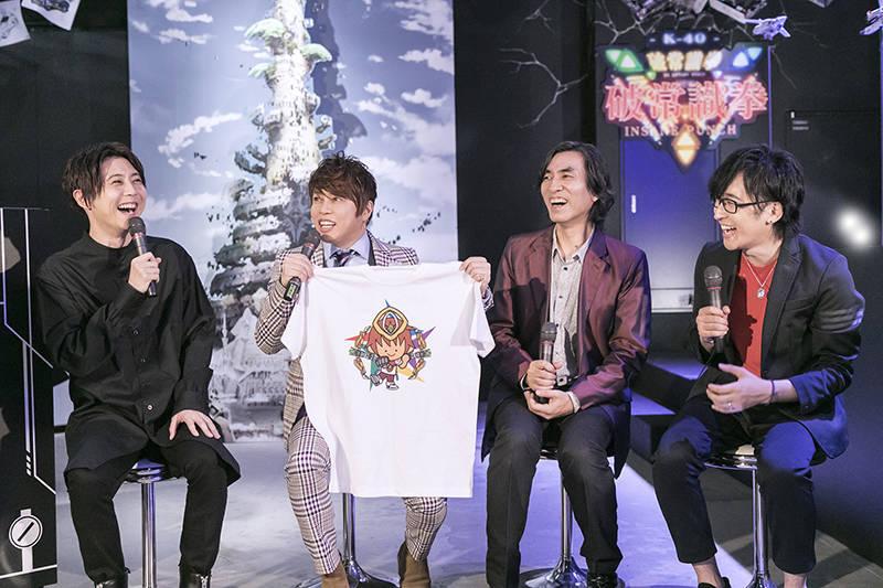 『河森正治EXPO』西川貴教、寺島拓篤、梶裕貴、河森正治がオープニングセッションに登壇3