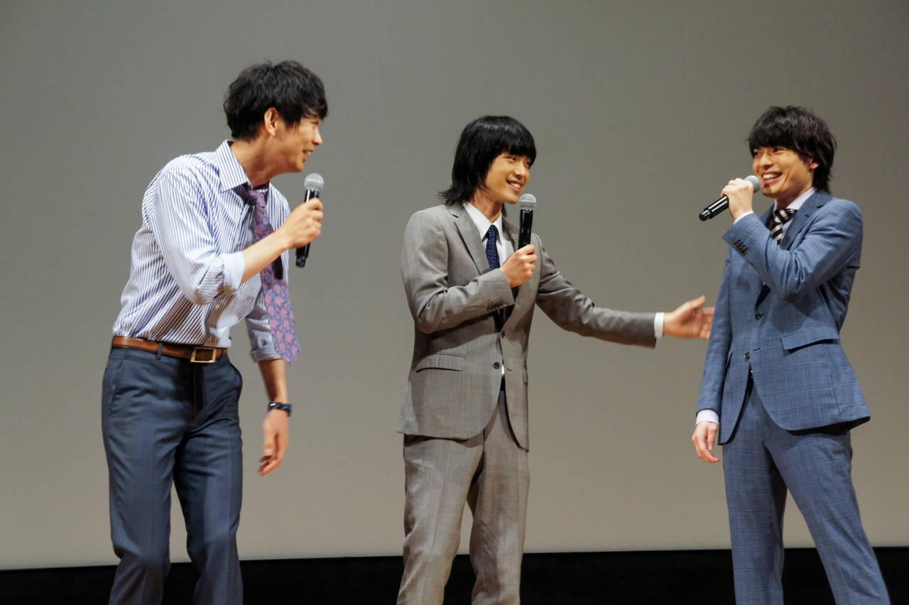 映画『広告会社、男子寮のおかずくん 劇場版』完成披露上映会 画像2