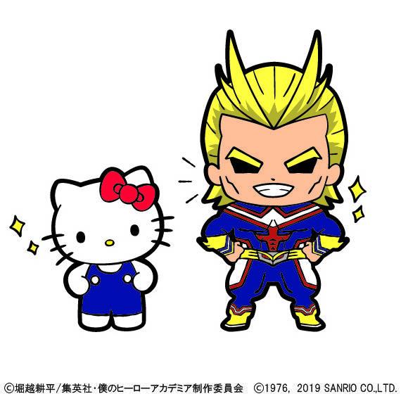 「僕のヒーローアカデミア×サンリオキャラクターズ」コラボ決定!画像8
